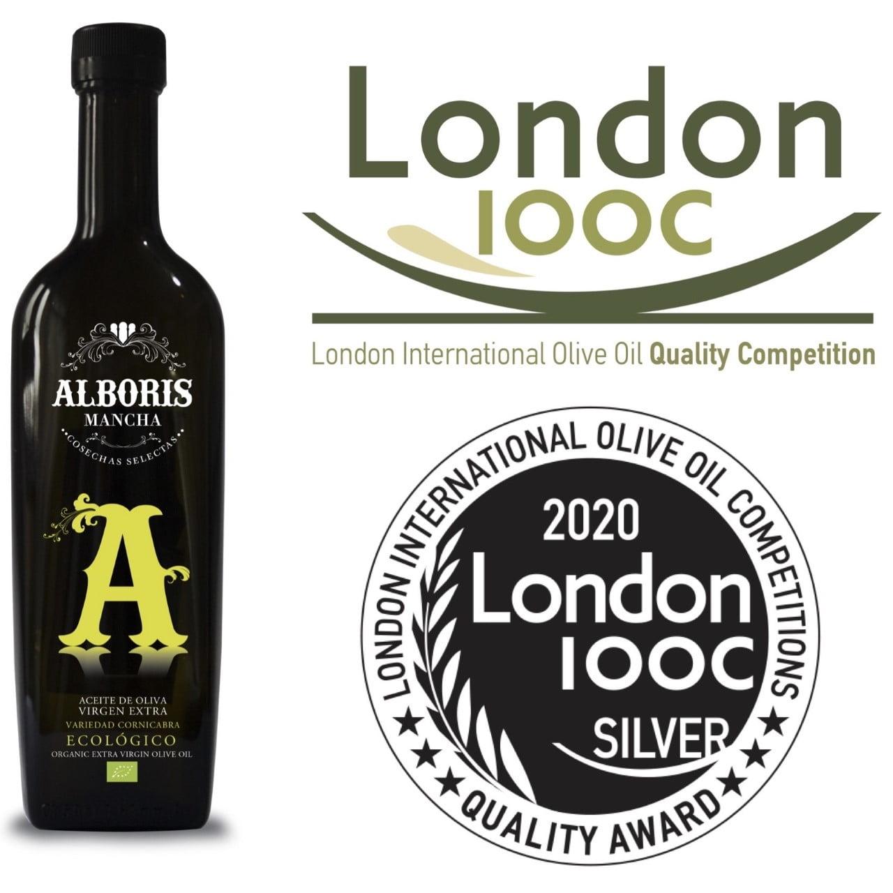 Nuestro aove ecológico cornicabra premiado en Londres
